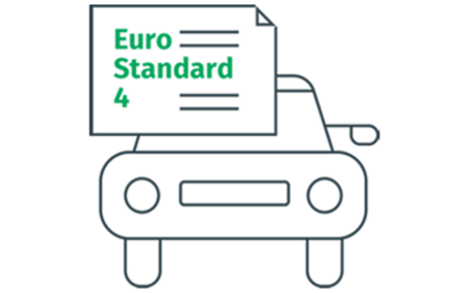 Vehicle with Euro Standard 4