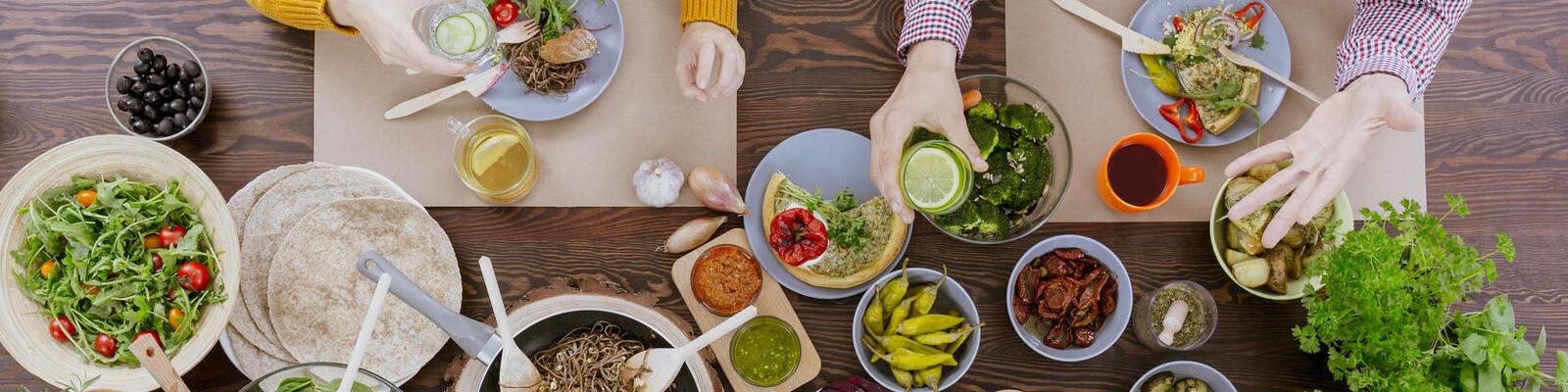 Vegetarisch tafelen