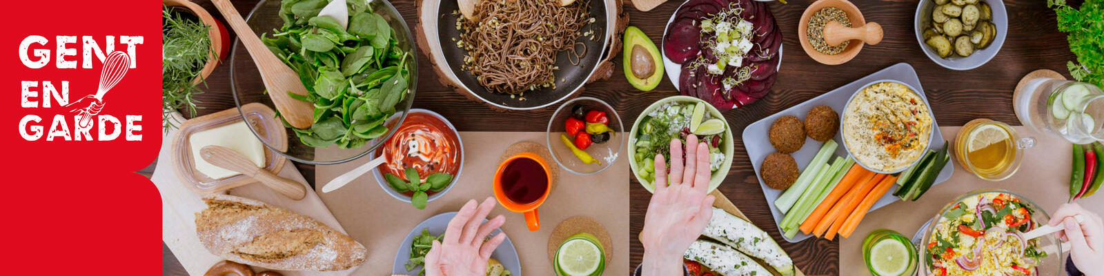 Partnerdag Voedselraad webbanner zonder tekst