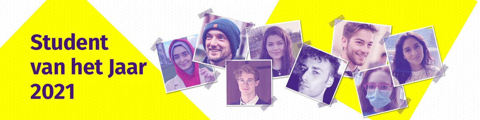 Student van het jaar 21 - website banner