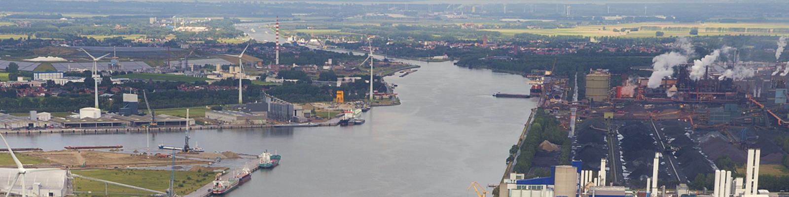 Beeld North Sea Port 2 niet vrij te gebruiken