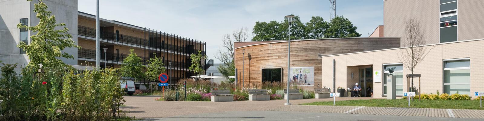 Woonzorgcentrum  Zonnebloem gebouw