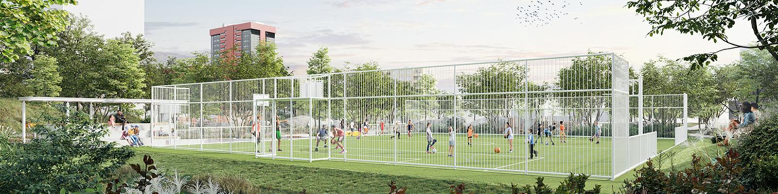 Sportveld Nieuw Gent