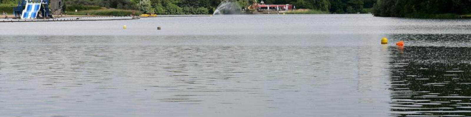 Afstandszwemmen in de Blaarmeersen