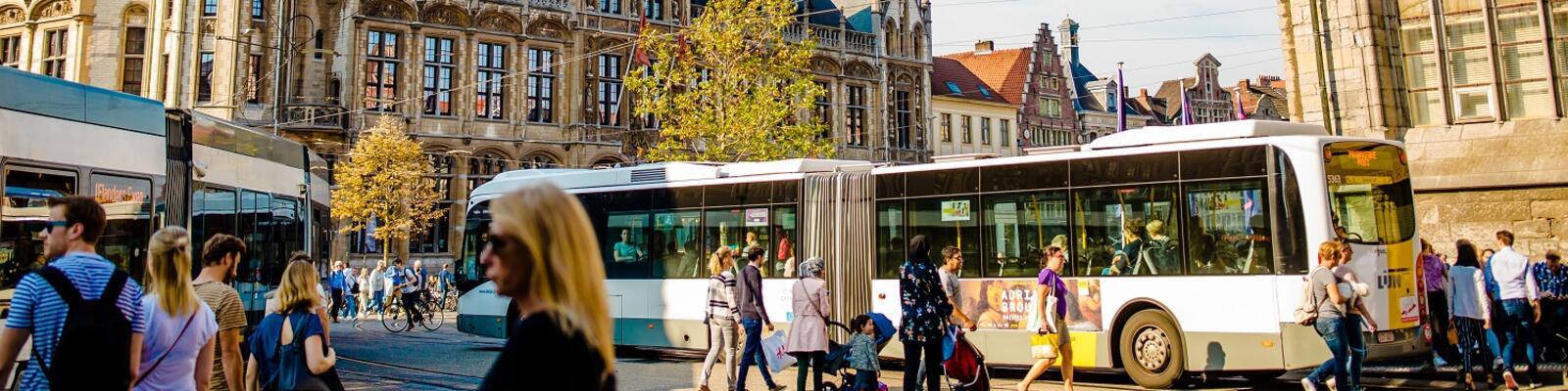 Gratis openbaar vervoer De Lijn