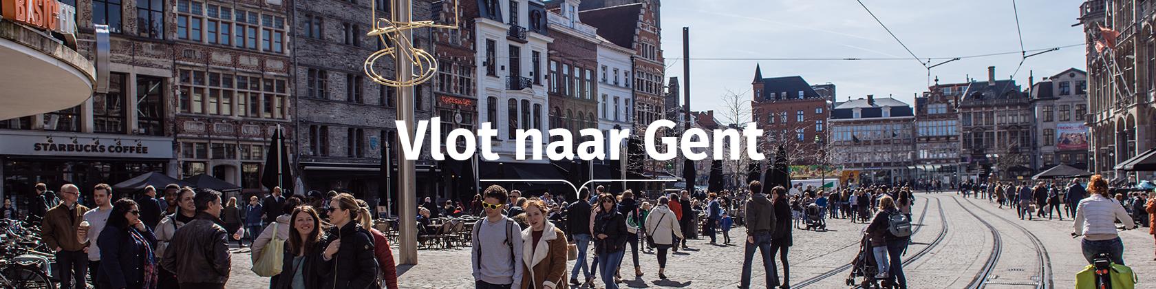 Vlot naar Gent - Korenmarkt