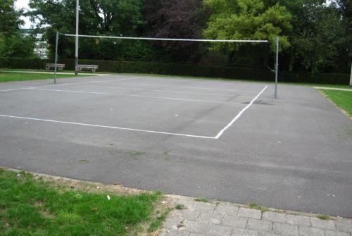 outdoor volleybalveld