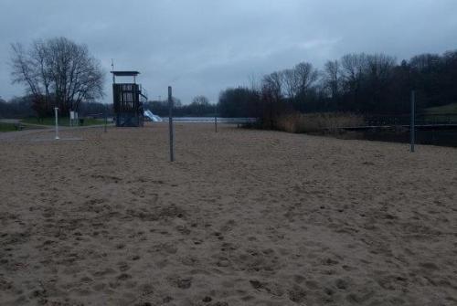 Sportstrand Beachvolleyterrein