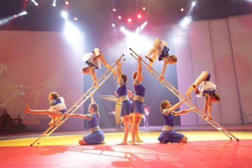 Acro - Acrobatische gymnastiek
