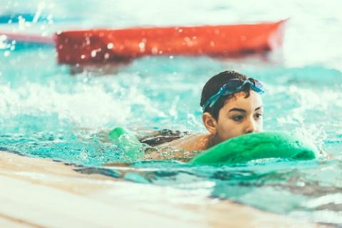 Leren veilig zwemmen - Otter woe 14.30-15.15 uur